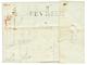 """1809 Superbe Cachet D' Arrivée """"8 FEVRIER/1809"""" Sur Lettre De PARIS Pour ST AFFRIQUE. RARE. TTB. - Postmark Collection (Covers)"""