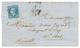 """""""PETIT Chiffre Du GROS Chiffre D' AJACCIO"""" : 1864 20c(n°22) Obl. PC Du GC 45 + T.15 AJACCIO. Cote 240. TB. - Marcofilie (Brieven)"""