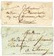 1831/32 2 Lettres Avec Cursive 56 St REVERIN. Cote 380€. TB. - Postmark Collection (Covers)