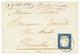 DOUVAINE : 1857 SARDAIGNE 20c TB Margé Obl. Cachet Sarde DOUVAINE Pour CHAMBERY. Signé BOLAFFI. TB. - Marcofilia (sobres)