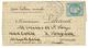 20c(n°29) Obl. Etoile + PARIS 17 Nov 70 Sur Lettre Pour CARIGNAN GIRONDE Réexpédiée à BORDEAUX. Verso, LATRESNE (26 Nov  - Marcophilie (Lettres)