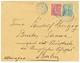 1904 FRANCE 10c + 15c SEMEUSE Obl. DIEGO-SUAREZ MADAGASCAR Sur Env. Pour BERLIN. RARE. Superbe. - Frankrijk