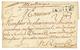 """1753 NANTES + """"MARTINIQUE"""" Manuscrit (rare) Sur Lettre Avec Texte De ST PIERRE MARTINIQUE Pour RENNES. Entrée Rare. TB. - Marcofilia (sobres)"""