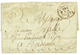 """""""ST ANNE GUADELOUPE """" : 1785 COLONIES PAR LAFLOTTE Orné Sur Lettre Avec Texte De """"ST ANNE"""" Pour BORDEAUX. Origine RARE.  - Postmark Collection (Covers)"""