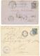 1890 Entier CG 10c Obl. CANTHO Via L' ARGENTINE Pour Le BRESIL Et 1888 CG 15c SAIGON-PORT Pour HUE. TB. - Unclassified