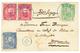 BELGIAN CONGO : 1894 5c + 10c(x2) + 25c Canc. BOMA On Envelope To BELGIUM. RARE. Superb. - Bélgica