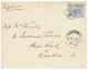 """KOROSKO"" : 1885 1P Canc. KOROSKO On Envelope To LONDON. Very Scarce. Vvf. - Égypte"
