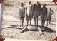 MAGNIFIQUE CARNET AVEC  16 GRANDES PHOTOS ANCIENNES 17X12  / CHASSE / TROPHEES / CROCODILE / CHASSEURS / RARE ++ - Afrique