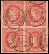 "Ed. 0 64 Bl.4 - Mat. Fechador Tp. II ""Ateca-Zaragoza"" - 1850-68 Koninkrijk: Isabella II"