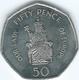 Gibraltar - Elizabeth II - 50 Pence - 2008 - Our Lady Of Europe - KM1090 - Gibraltar