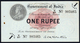 BRITISH INDIA BANKNOTE, ONE RUPEE, 1917, KING GEORGE V, UNC, RARE - Inde