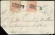 1860 - 2 Grana Rosa Carminio, I Tavola (5d), Ottimo Stato, Entrambi Riutilizzati In Frode Postale Su... - Neapel