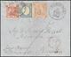 1861 - 1 Grano Carminio, II Tavola, Perfetto, 5 Grana Rosa Brunastro I Tavola, Giusto In Basso, In A... - Naples
