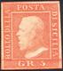 1859 - 5 Grana Vermiglio Chiaro, I Tavola (10), Gomma Originale, Perfetto. Ferrario.... - Sicile