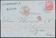 1865 - MARSIGLIA, 2240 Punti Piccoli Con Cifre Grandi Punti 6 - 40 Cent. De La Rue (L20), Su Lettera... - Italie
