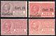 1927/28 - Soprastampati E 15 Cent. E 35 Cent., Questi Con Ottima Centratura (10/11,12/13), Gomma Int... - Unclassified
