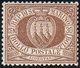 1877 - 30 Cent. Stemma (6), Buona/ottima Centratura, Gomma Integra, Perfetto. G.Bolaffi, Cert. Ferra... - San Marino