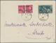 """Dt. Besetzung II WK - Frankreich - Dünkirchen: 1940, 5 C Karmin """"Merkurkopf"""", Waagerechtes Paar, Sow - Occupation 1938-45"""