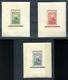 1951 80 éves A Magyar Bélyeg Blokksor  / 80 Years Of Hun. Stamps Block Line ** Szép (45000) - Brieven En Documenten