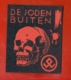 JEWISH DE JODEN BUITEN! SKELETON SKULL MACABRE 354 - 1939-45