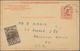 Beleg 1941, 3 C. Mc.Kinley Antwortkarte Mit Russ.ZuF (diese Ungestempelt Geblieben) Aus Der Sowjetunion Nach USA Gelaufe - United States