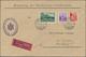 Beleg 1935, 90, 10 U.20 Rp. Freimarken Mit Aufdruck Auf Größ. Eil-Brief Der Regierung Von Vaduz Nach Lorch, Mi. 108.- (M - Liechtenstein