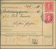 """Beleg 1916,2x 15 H. Kaiser Auf Postanweisung  Mit Rs. Postablagestempel *Lechen B. Reibnig* (Michel: 190(2))"""" - Autriche"""
