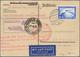 Beleg 1931, 2. SAF Mit Anschlußflug Ab Berlin Nach Rio Auf Karte Mit 2 RM Zeppelin - Airmail