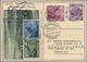 Beleg 1932,Liechtenstein, 5. SAF Auf 10 Rp.Bildpost-GA-Karte Mit  ZuF, Mi. 485.- - Airmail