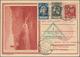 Beleg 1930,Liechtenstein,Ostseefahrt Bis Tallin Auf 20 Rp.Bildpost-GA-Karte Mit  ZuF, Mi. 580.- - Airmail