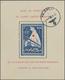 Gest. 1941, Eisbärblock Mit Feldpoststempel, Tiefstsign. Pickenpack Und Tust, Mi.800.- (Michel: Bl.I) - Occupation 1938-45