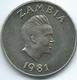 Zambia - 1981 - 20 Ngwee - FAO - KM22 - Zaire (1971-97)