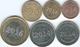 Zimbabwe - 2014 - Bond Coins - 1, 5, 10. 25 & 50 Cents; 2016 - 1 Dollar (KM16-21) - Zaire (1971-97)