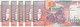 SOMALIA 1000 SHILLINGS 1996 P-37b Serie 196 LOT X5 UNC NOTES - Somalia