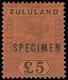 * Zululand - Lot No.1188 - Afrique Du Sud (...-1961)