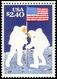 "MNH ) STATI UNITI 1989 | Varietà. ""20° Anniversario Dello Sbarco Sulla Luna"", $2,40 ""Fantasmi Lunari"", Manc - Etats-Unis"