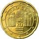 Autriche, 20 Euro Cent, 2006, SUP, Laiton, KM:3086 - Autriche
