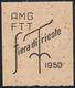 1950 - Fiera Di Trieste (81/82), Prova Della Soprastampa Su Carta Giallastra, Pos. 39, Non Gommata, ... - Ohne Zuordnung