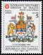 POSTA AEREA 1993 - 5 S. Repubblica Del Canada (47), Gomma Integra, Perfetto. Raro, Tiratura 9.069 Es... - Malte (Ordre De)