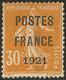 Postes France. No 35. - TB. - R - Préoblitérés
