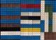 LEGO CLASSIC LOT DE 4 PLAQUETTES 2 De 160 Mm Sur 80 Mm.,1 De 128 Mm Sur 64 Et Une De 63 Mm Sur 32 & DIFFÉRENTES BRIQUES - Loten