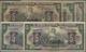 Ecuador: El Banco Central Del Ecuador 5 Sucres 1941, 1944, 1945, 1949 And 10 Sucres 1949, All With T - Equateur