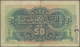 Egypt / Ägypten:  National Bank Of Egypt 50 Piastres September 11th 1915, P.11, Lightly Toned Paper - Egypt