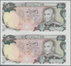 Iran: Uncut Sheet Of A Pair Of 500 Rials ND(1974-79) P. 104ar Without Serial Number, In Condition: U - Iran