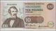 Scotland / Schottland: Clydesdale Bank PLC 10 Pounds 1990, P.214 In Perfect UNC Condition. - [ 3] Scotland