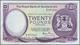Scotland / Schottland: The Royal Bank Of Scotland PLC 20 Pounds 1982 P. 344, Light Folds In Paper Bu - [ 3] Scotland