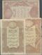 Turkey / Türkei: Set Of 3 Notes Ottoman Empire Containing 10, 20 & 50 Kurush ND(1876-78) P. 48, 50, - Turquie
