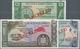 Western Samoa / West-Samoa: Set With 3 Banknotes 1, 2 And 10 Tala ND(1967) SPECIMEN, P.16s-18s, All - Samoa