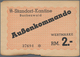 Deutschland - Konzentrations- Und Kriegsgefangenenlager: Konzentrationslager Buchenwald 2 Reichsmark - Allemagne