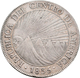Guatemala: Zentral Amerikanische Republik: 8 Reales 1835 NG M. Sonnenaufgang über 5 Bergen. 26,8 G. - Guatemala